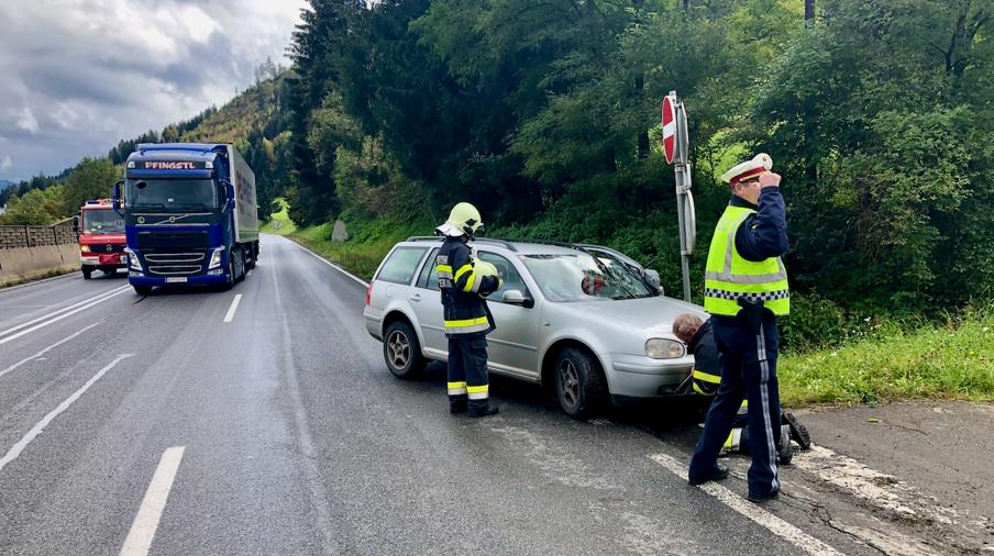 Verkehrsunfall Pichl-Kurve