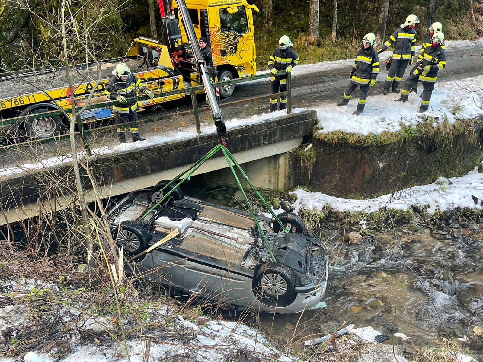 Verkehrsunfall Möschitzgraben